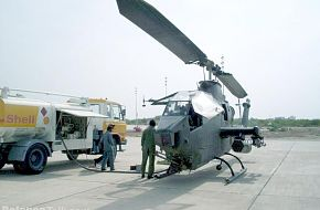 Pakistan Army AH-1 Cobra helicopter