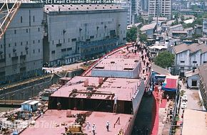 INS Shivalik (Under Construction)