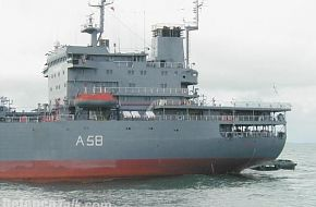 INS Jyoti Replenishment Tanker