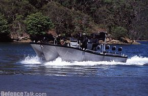 A new 4RAR Commando High speed watercraft...