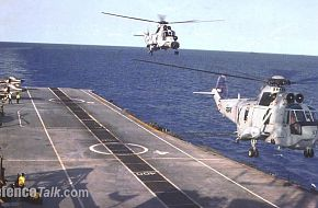 Sea Kings on INS Viraat