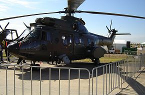 A Singaporean Super Puma Helo at Avalon Airshow