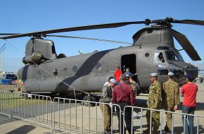 An Australian Army CH-47D Chinook at Avalon Airshow