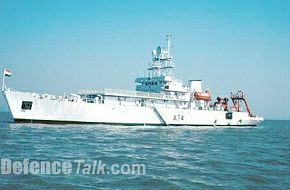 INS Sagardhwani Research Ship