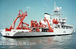 INS Sagardhwani Marine Acoustic Research Ship (MARS)
