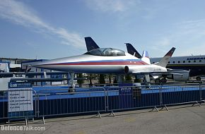 Javelin 5th generation jet trainer at Paris airshow 2005