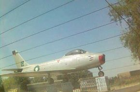 F-86 Sabre .. Legend of PAF since 1965.