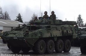 Fighting Vehicles on parade