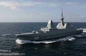 Singapore's RSS Formidable at Sea