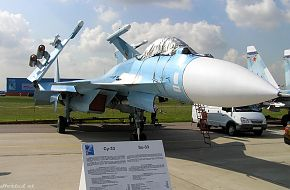 MAKS 2005 Air Show - Su 33 @ The Moscow Air Show - Zhukovsky