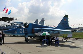MAKS 2005 Air Show - Su 39 @ The Moscow Air Show - Zhukovsky