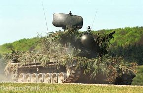 Gepard anti-aircraft tank