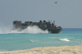 Bright Star Exercise 2005 - Landing Craft Utility (LCU) carrying U.S. Marin