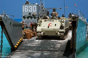 Bright Star Excercise 2005 - A Landing Craft utility (LCU)