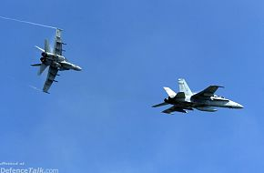 Two F/A-18C Hornets