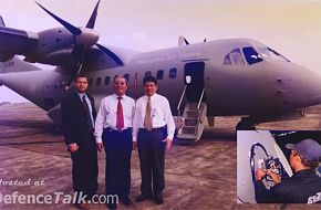 Indonesian Aerospace CN-235 Transport Aircraft