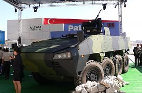 PATRIA ANAFARTA / IDEF 2005 - Land Weapon Systems