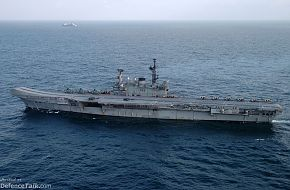 Malabar 2005 Naval Exercise - Indian aircraft carrier CVH Viraat