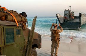 Bright Star Exercise 2005 - Landing Craft