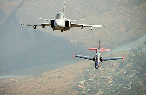 JAS 39 Gripen and Hawk