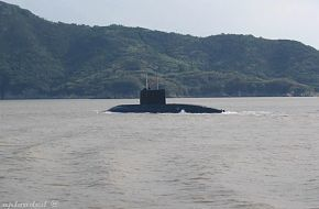 China Navy Kilo Submarine