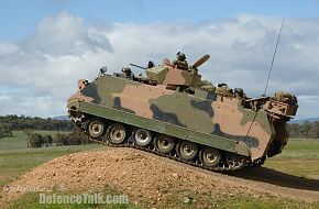 Australian Army's upgraded M113AS4 vehicle trials 2
