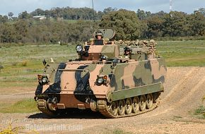 Australian Army's upgraded M113AS4 vehicle trials 3