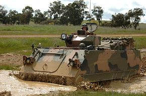Australian Army's upgraded M113AS4 vehicle trials 4