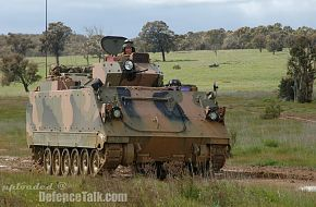 Australian Army's upgraded M113AS4 vehicle trials 5