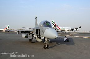 Gripen JAS 39 Fighter - Arrives for Dubai Air Show