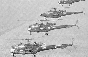 Alouette 3's in formation