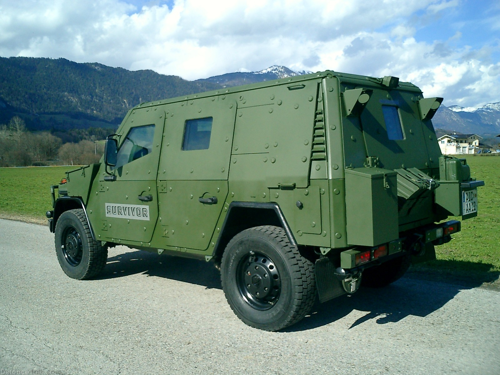 Achleitner range of light tactical vehicles
