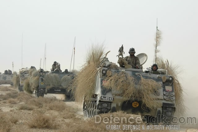 Armored Vehicles, Pak-Saudi Armed Forces Exercise, AL-SASAAM-2