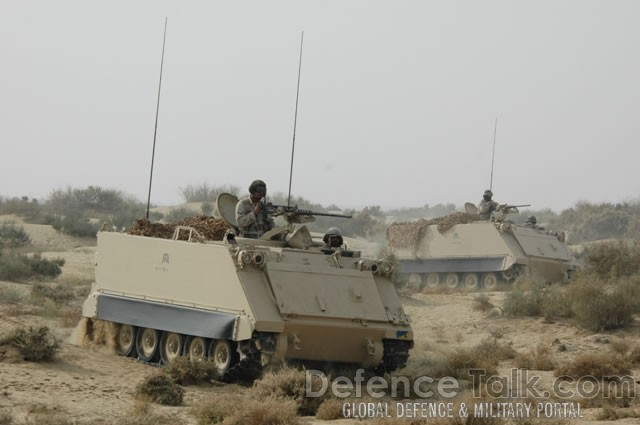 Armored Vehicles, Pak-Saudi Armed Forces Exercise