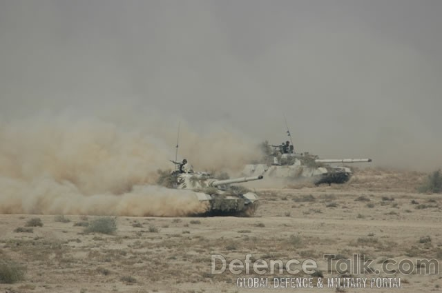 Army Tanks, Pak-Saudi Armed Forces Exercise