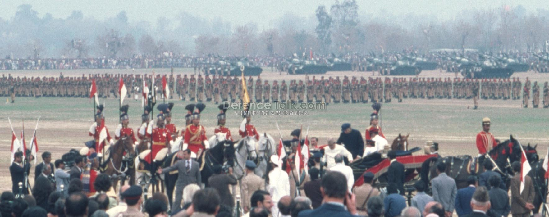 Bhutto Arriving - National Day Parade, March 1976