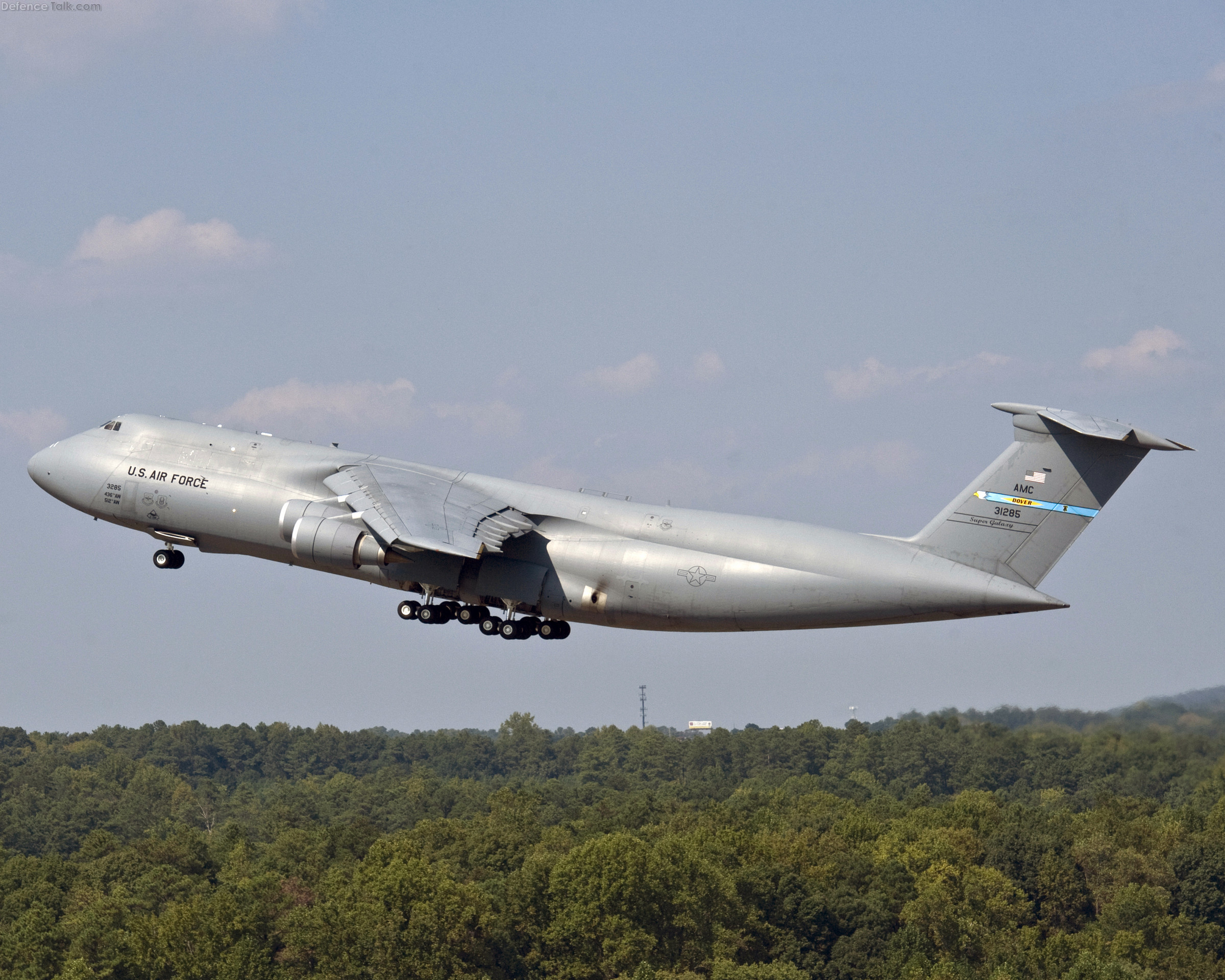 C-5M Super Galaxy - First production Flight