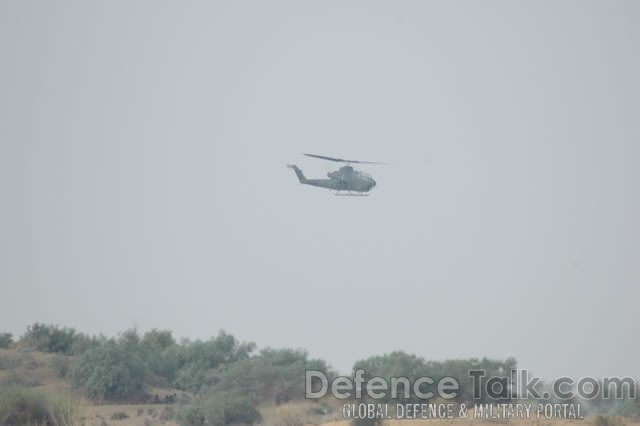 Cobra Attack Helicopter, Pak-Saudi Armed Forces Exercise