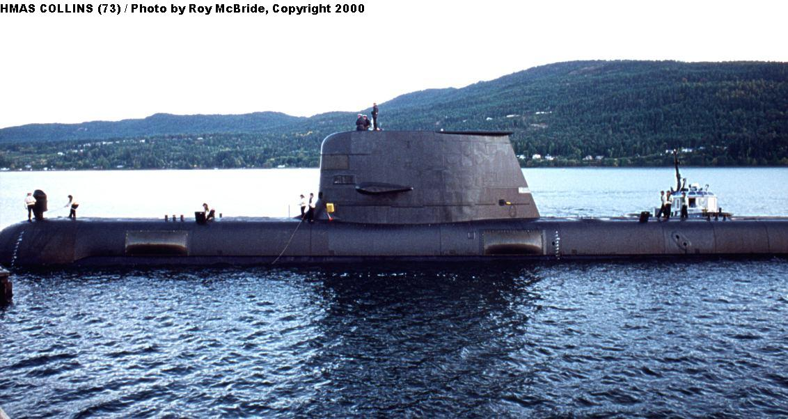 Collins Class SSK - side shot, Upgraded Unit
