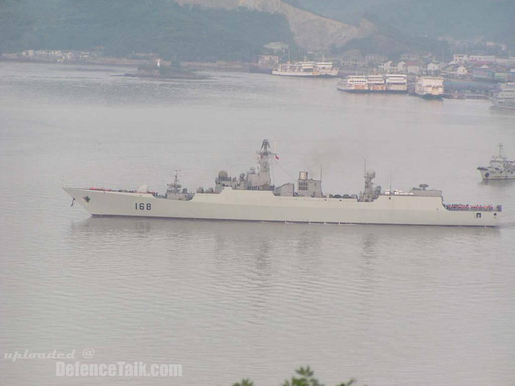 DDG 52B - China Navy
