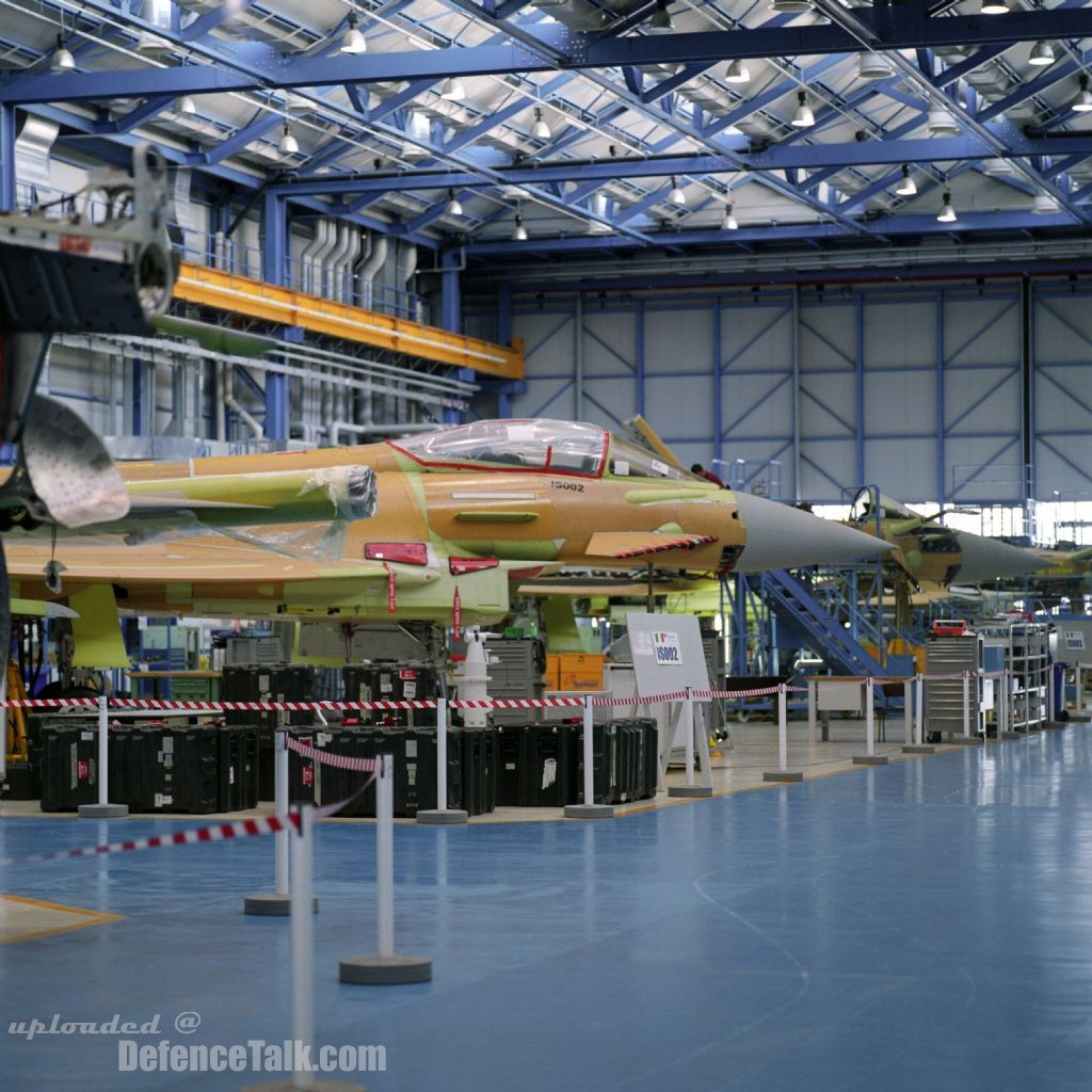 Eurofighter Typhoon Fighter - Europe