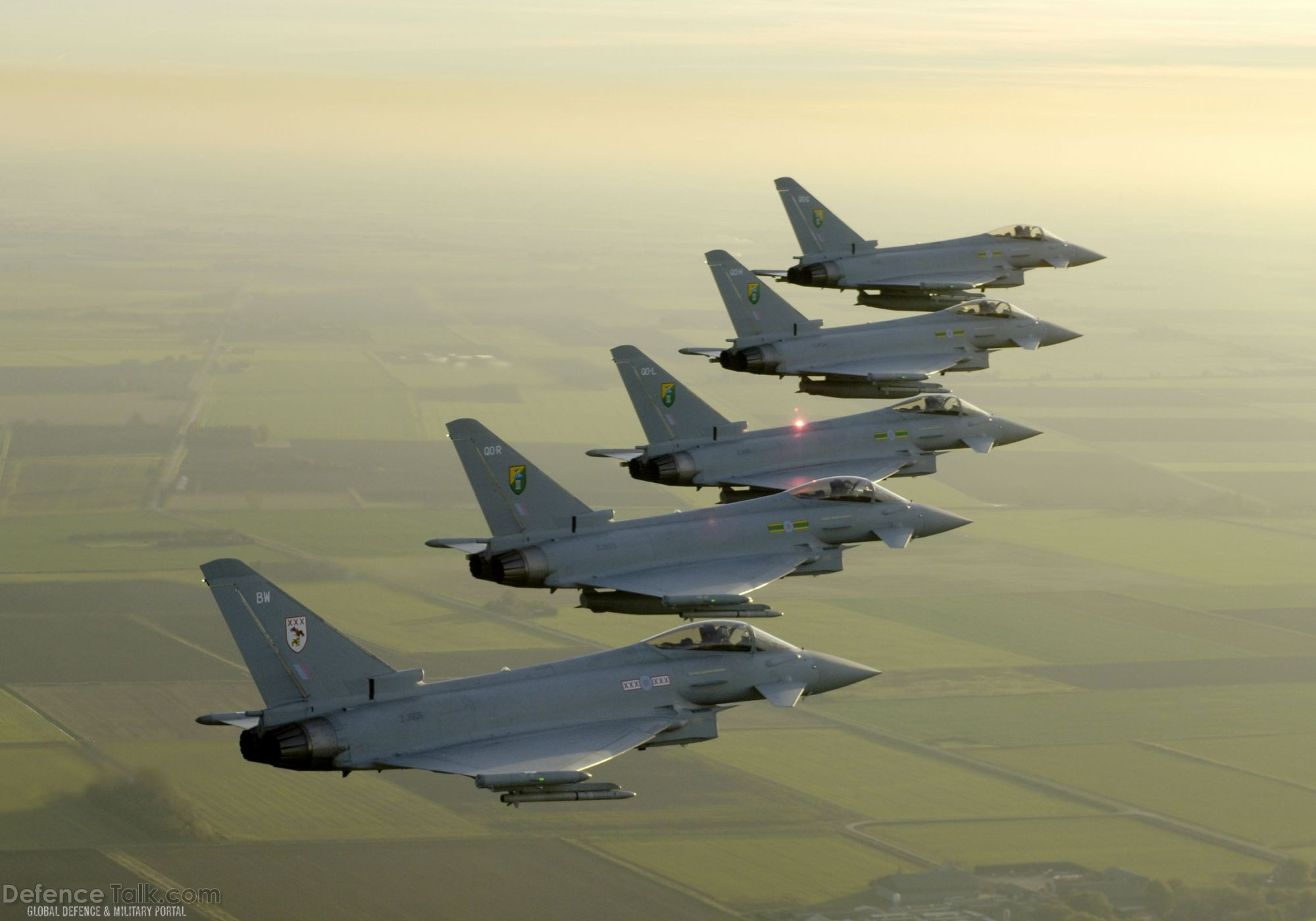 Eurofighter Typhoon fighter, Royal Air Force