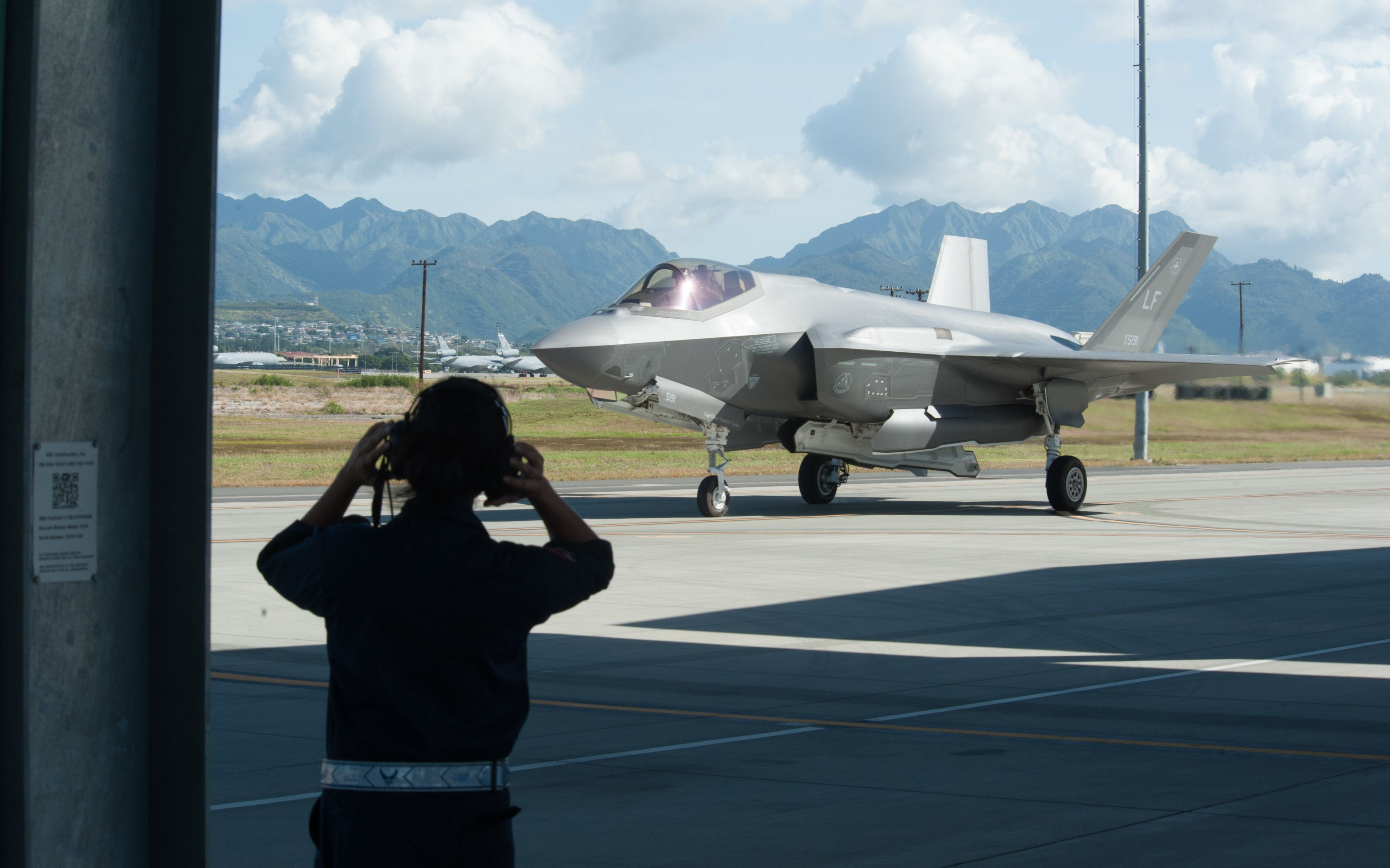 F-35A Lightning II - Fifth-gen aircraft in Hawaii