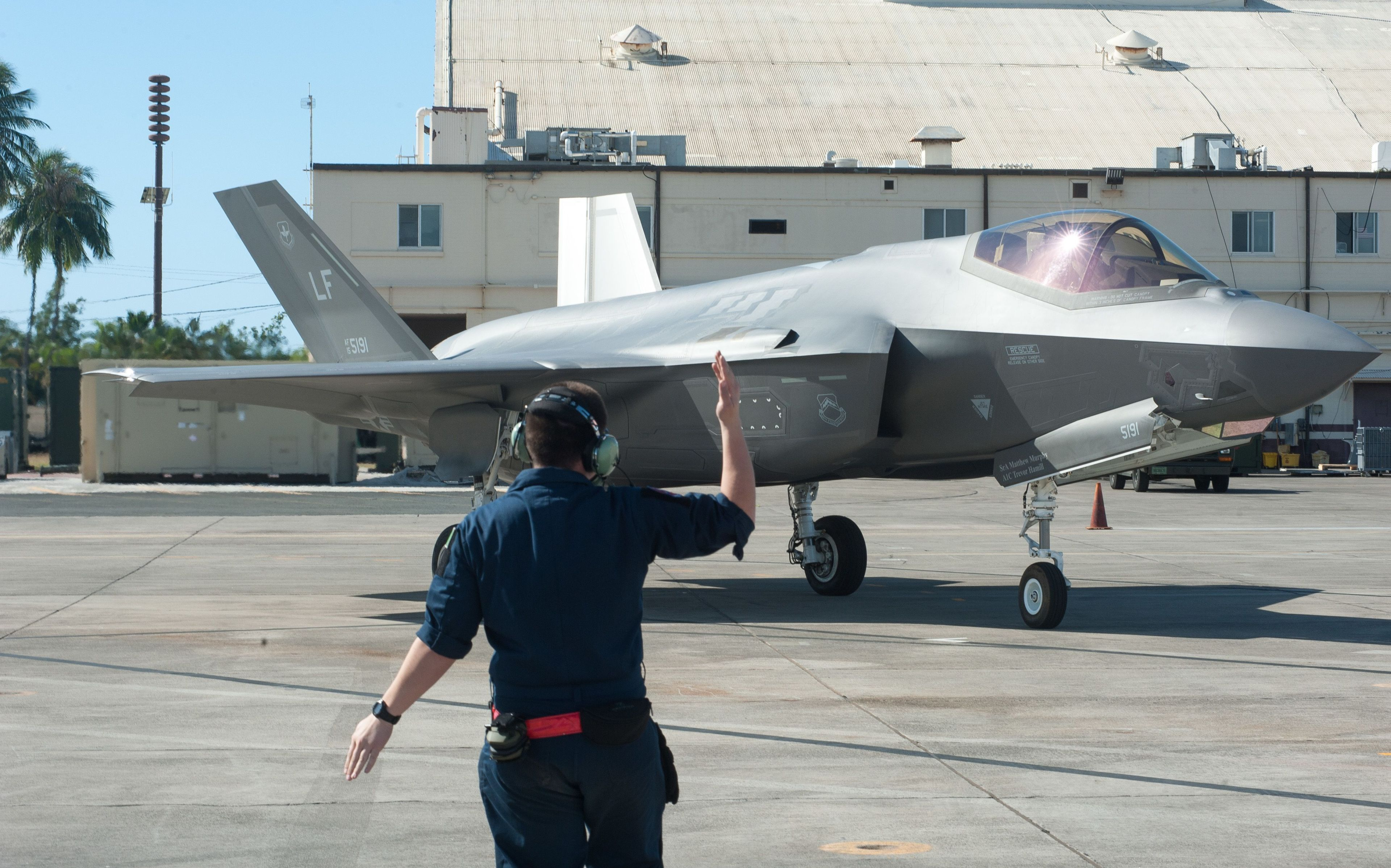 F-35A Lightning II - Fifth-gen aircraft unite in Hawaii