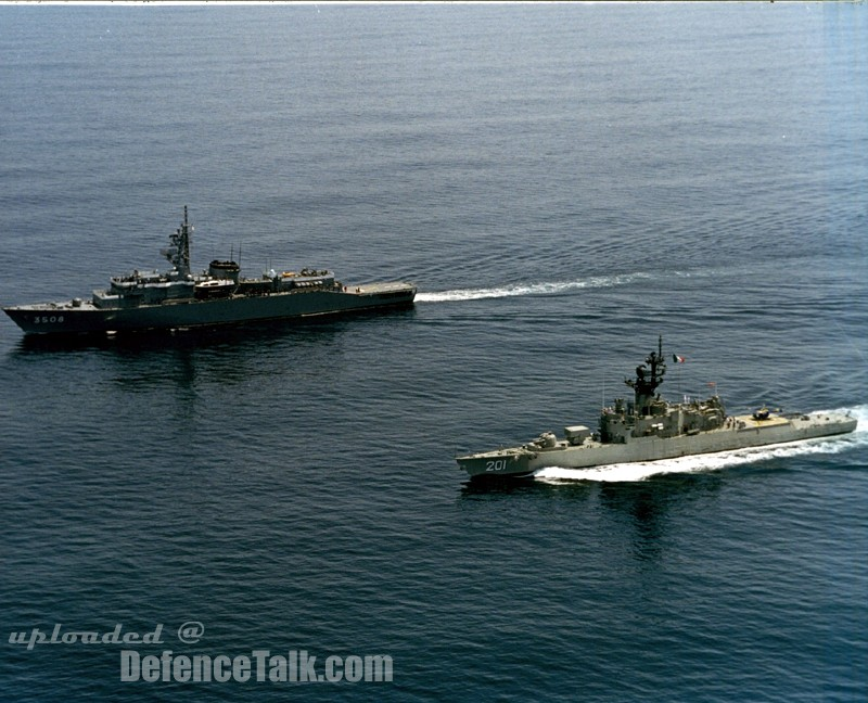 Frigates, Missile and Patrol Boats - Mexican Navy Ships