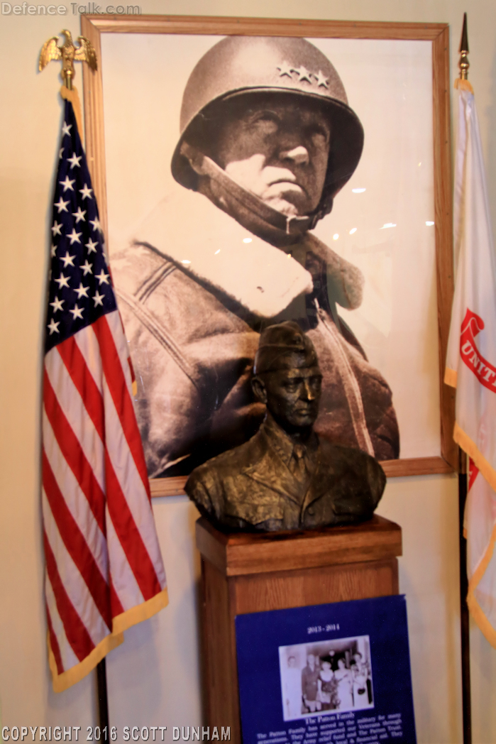 General George S. Patton Photo and Bust