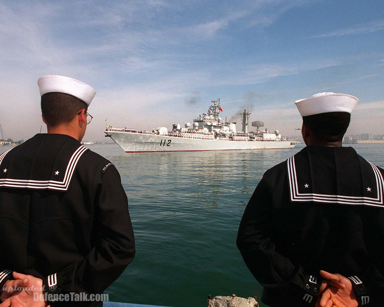 Goodwill Visit to Pearl Harbor, Hawaii - Chinese Navy
