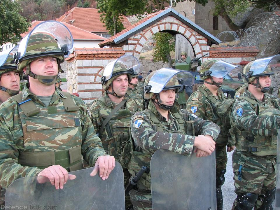Image result for greek force nato kosovo