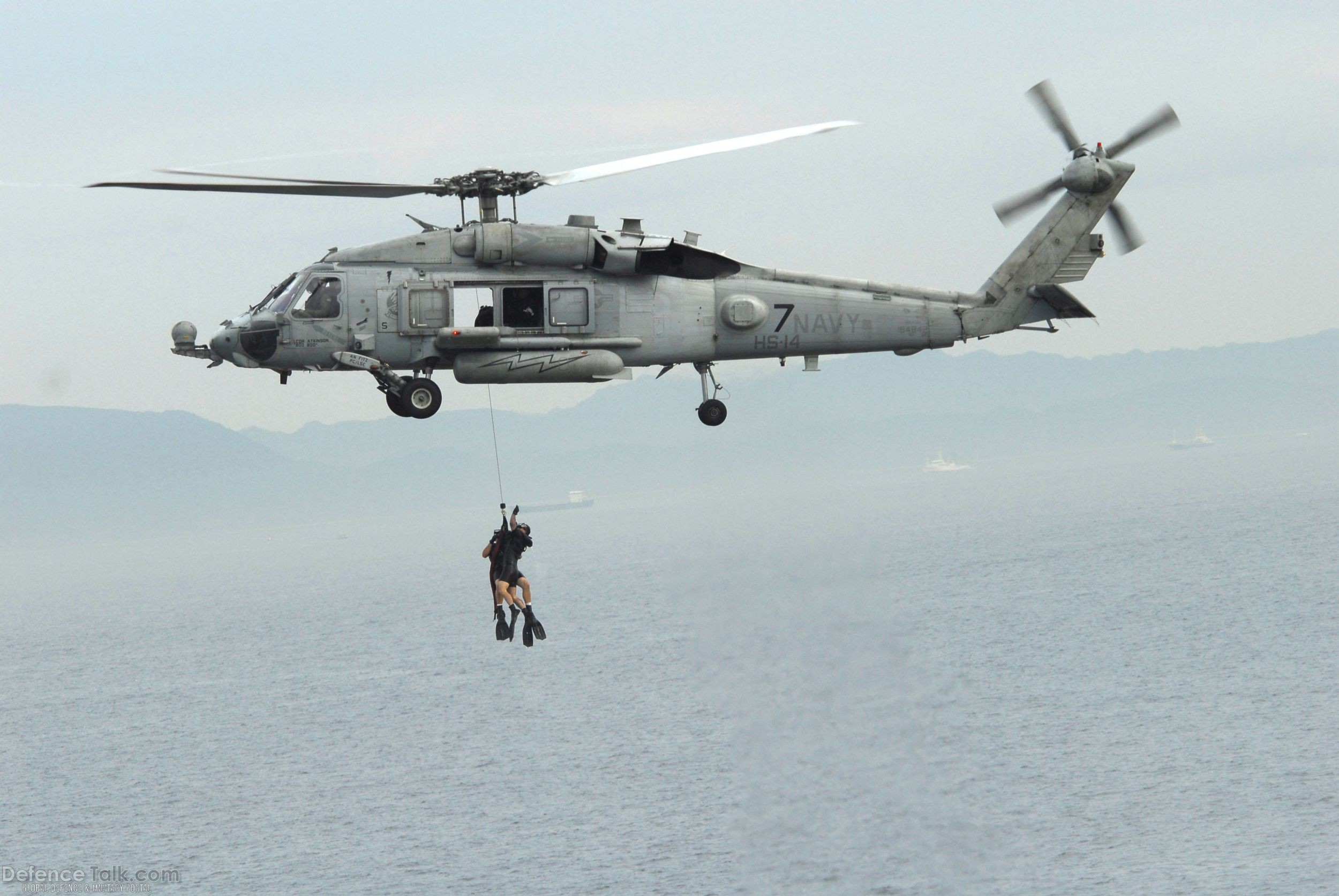 HH-60H Seahawk helicopter - US Navy