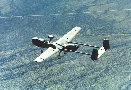 HUNTER RQ-5A TACTICAL UNMANNED AERIAL VEHICLE - USA, ISRAEL